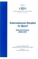 International Studies in Sport 2000/2001